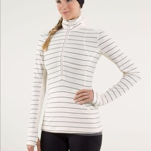 LULULEMON | Star Runner Striped & Lace Pullover